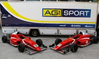 AGI Sport's newly liveried CAMS Jayco Australian F4 cars