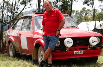 Ross Dunkerton will make a competitive rallying return