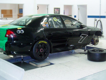 The Holden was shipped after Alex Davison drove it in the 2005 season