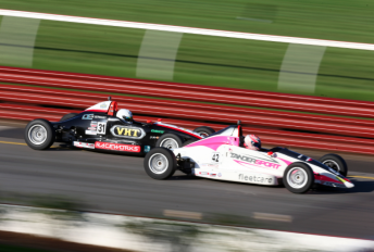 Leanne Tander on her way to victory