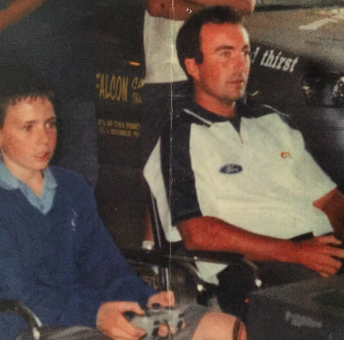 Pye met Ambrose at a Ford function in 2004. pic: @scottpye19 via instagram