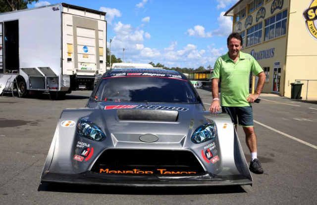 Tony Quinn with his Pikes Peak challenger