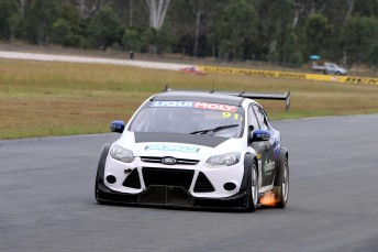 Keith Kassulke jumped back behind the wheel of the #91 MARC Focus at Queensland Raceway pic: Matthew Paul Photography