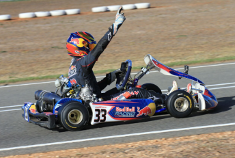Jack Doohan was victorious in KA2. Pic: Coopers Photography