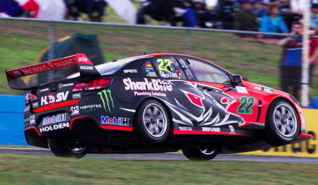 James Courtney topped Friday practice in Perth