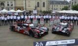 Marcel Fassler (CHE) / Andre Lotterer (DEU) / Benoit Treluyer (FRA) #7 and Lucas Di Grassi (BRA) / Loic Duval (FRA) / Oliver Jarvis (GBR) #8 Audi Sport Team Joest  Audi R18 e-tron quattro,