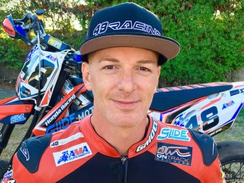 Steve Alkyer will represent the USA at this weekends opening round of the FIM Asia SuperMoto Championship