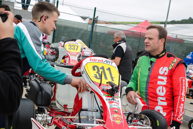 Rubens Barrichello is gearing up for a tilt at the