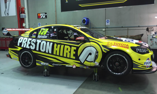 Team 18's new Holden ready for is shakedown