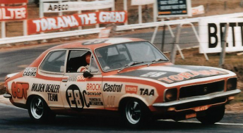 Brock drove solo to victory in 1972