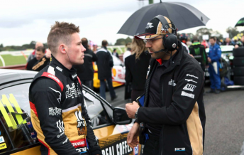 Stanaway with engineer Dilan Talabani