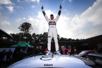 Mattias Ekstrom claims the Championship