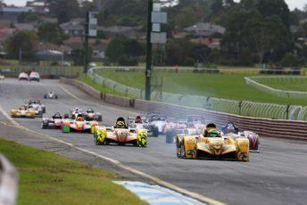 The 2017 Australian Sports Racer Series Season will kick-off at Sandown Raceway from April 7-9. pic: Nathan Wong