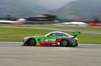 The Scott Taylor Motorsport Mercedes will start the Highlands 101 from pole
