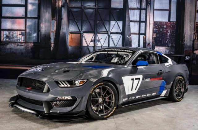 The new Ford Mustang GT4