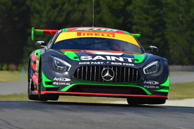 The STM Mercedes won the recent Highlands 101