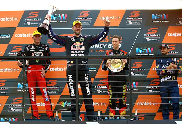 Shane van Gisbergen has leapt into AutoSport's top 50 drivers for 2016