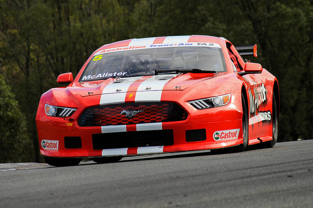 Ford Mustang Ta2 Trans Am Race Car For Sale: New Gen Mustang Unleashed At B12 Hour Supports