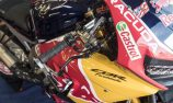 Red Bull Honda World Superbike Team at Lausitzring for a two-day private test