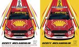 Authentic Collectables to replicate Shell V-Power Racing Team