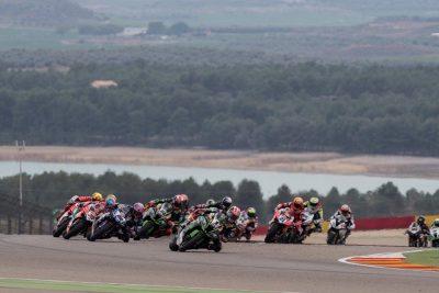 2018-04 Aragon race one..world superbikes