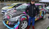 Sloan Cox races into third on international rallycross debut