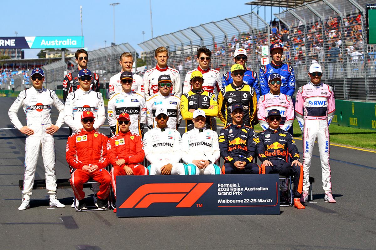 Grid set for 2019 Formula 1 season - Speedcafe
