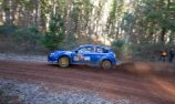 The boys and girls in blue battle it out at Kirup Rally