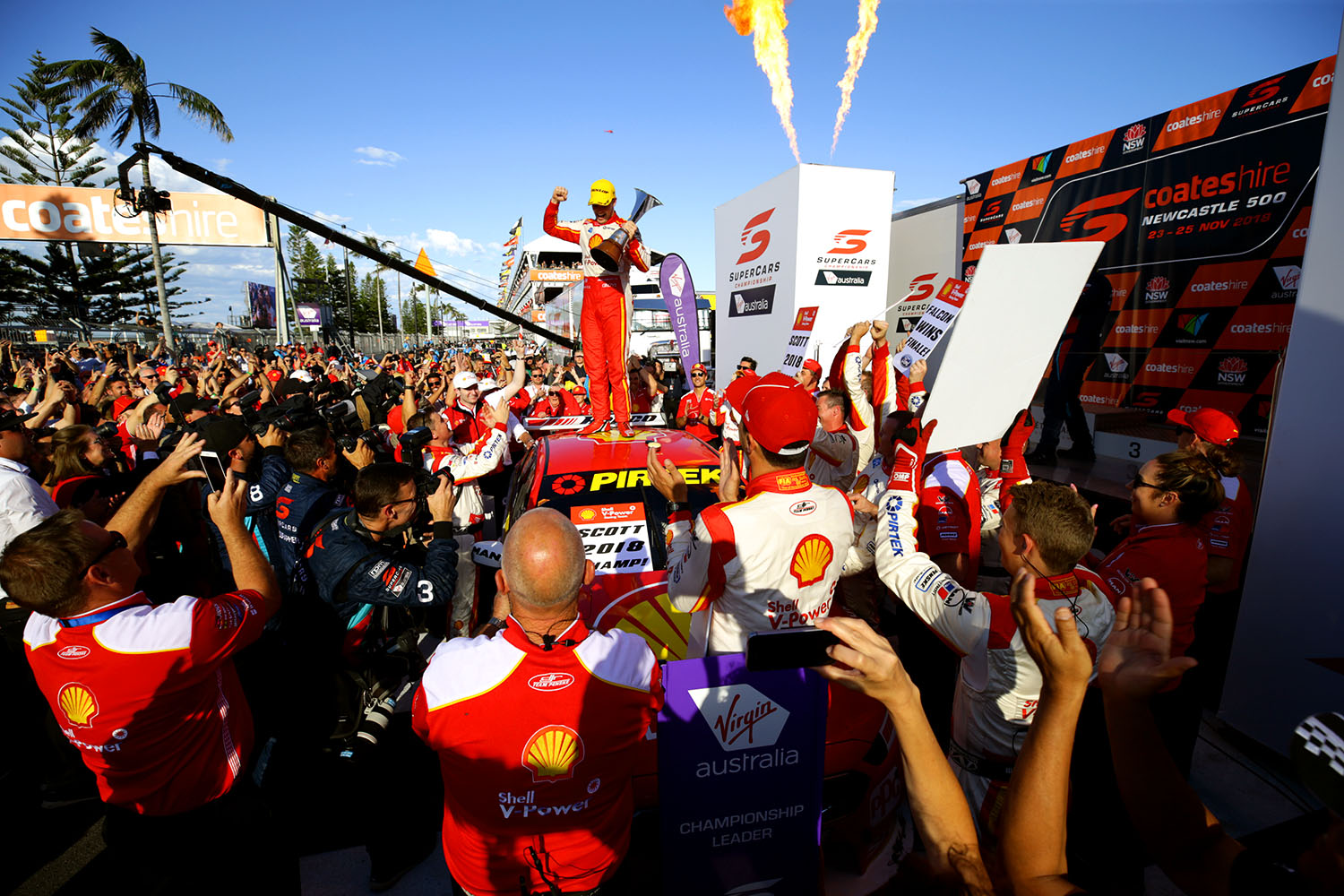 Championship win 'redemption' for McLaughlin