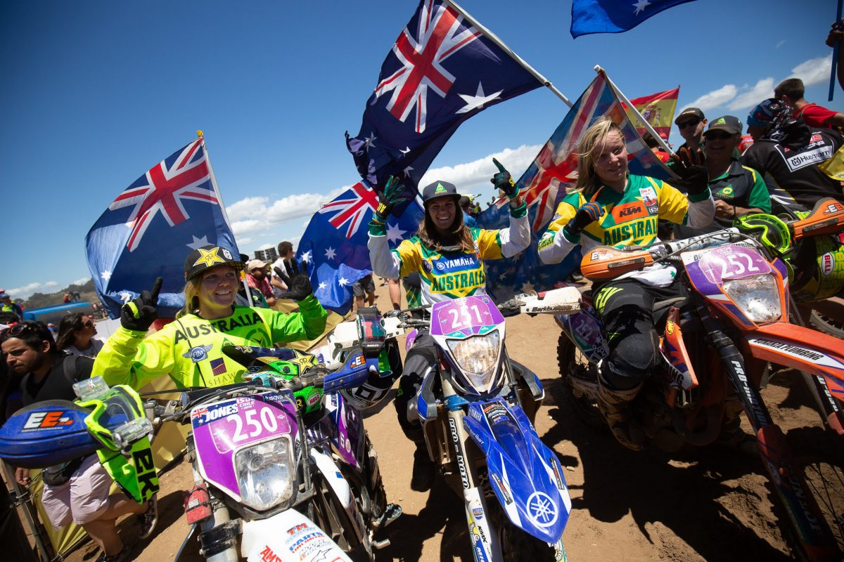 Australia makes history as sixth straight Women's World ISDE Champions - Speedcafe