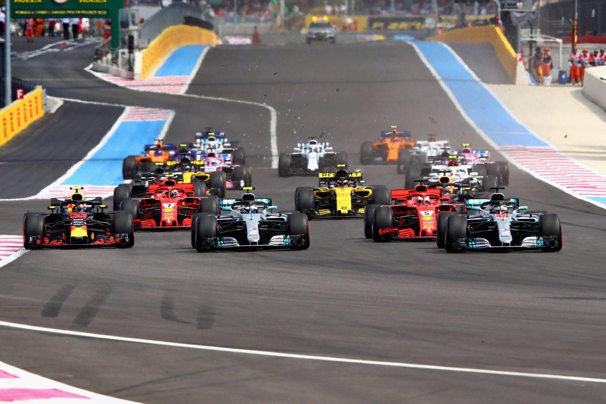 Start Formel 1 2019