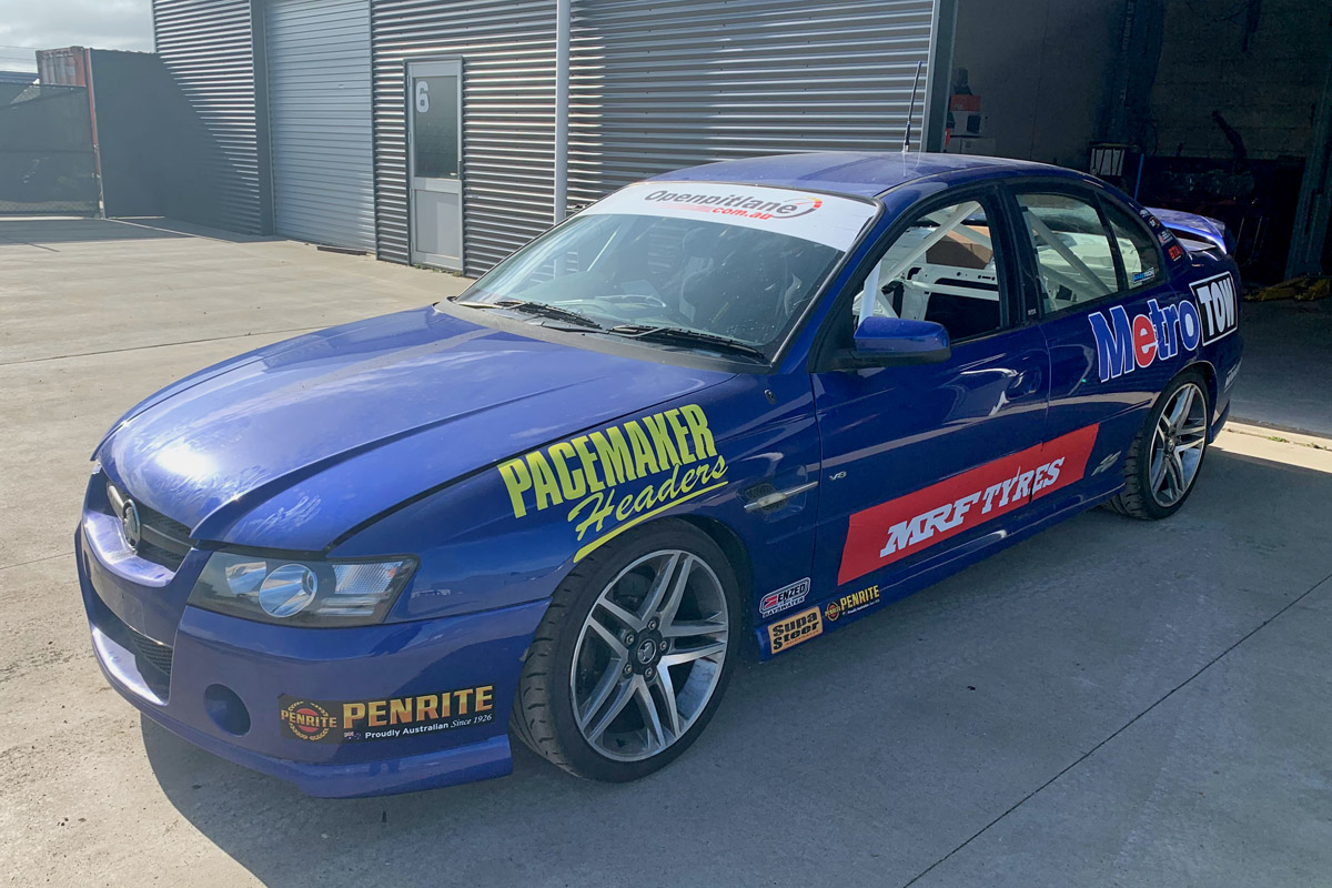 'Bogan spec' Commodore to race in Australian Production Cars - Speedcafe