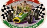 1966 - Lukey Mufflers Sticker