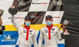 Podium for the Porsche 911 RSR in IMSA, North America