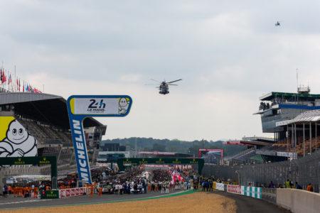 Start -  24h of Le Mans - Circuit de la Sarthe - Le Mans - France -