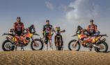 Red Bull KTM Factory Racing fully focused on Dakar preparations